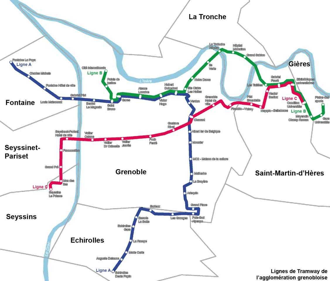 Tramway de grenoble par consultant référencement